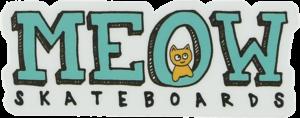 MEOW LOGO DECAL 1