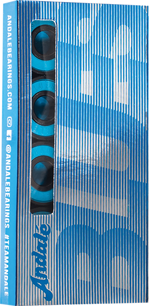 ANDALE BLUES BEARINGS SINGLE SET BLUE/BLK
