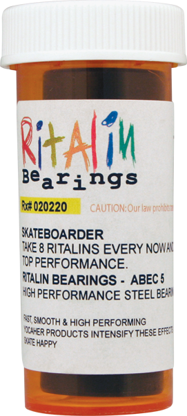RITALIN ABEC-5 BLUE BEARINGS ppp