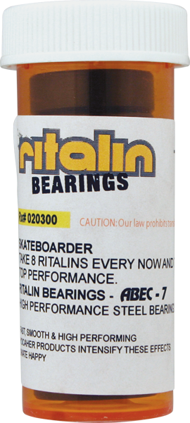 RITALIN ABEC-7 CHROME BEARINGS ppp
