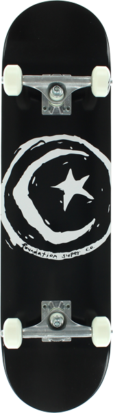 Foundation STAR & MOON COMPLETE-8.0 BLACK