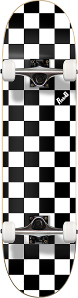 PUNKED CHECKER COMPLETE-7.75 WHT ppp