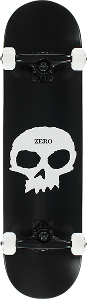 ZERO SINGLE SKULL COMPLETE-8.0 BLK/WHT