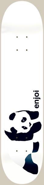 ENJOI WHITEY PANDA DECK-8.0 resin 7