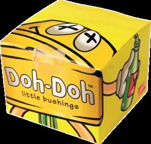 SHORTYS 5PK(10pr) DOH DOH- YELLOW 92a