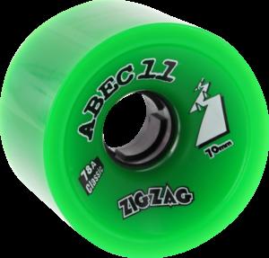 ABEC11 CLASSIC ZIGZAGS 78a GREEN x4