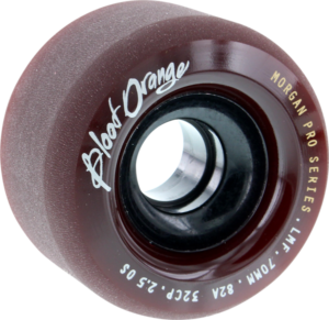 BLOOD ORANGE MORGAN 70mm 82a MIDNIGHT MAROON x4