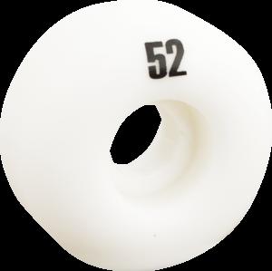 ESSENTIALS WHITE 52mm  ppp x4
