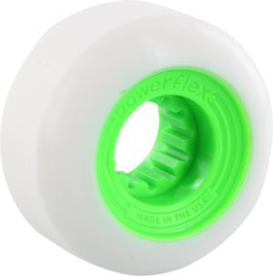 POWERFLEX GUMBALL 56mm 83b WHT/LIME x4