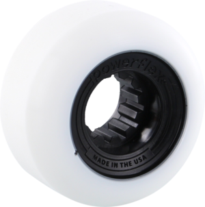POWERFLEX GUMBALL 56mm 83b WHT/BLACK x4