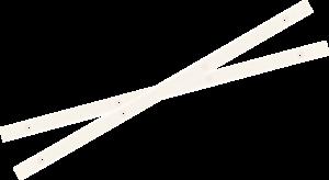YOCAHER BOARD RAILS WHITE
