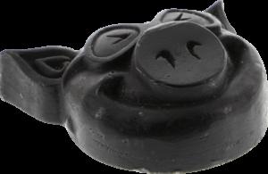 PIG HEAD RAISED CURB WAX BLACK