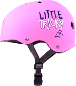 T8 LITTLE TRICKY HELMET PINK RUBBER eps liner