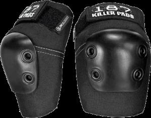 187 SLIM ELBOW PADS XS-BLACK