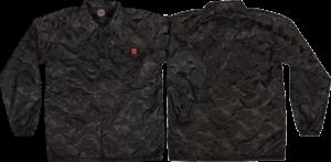 Independent CHADWICK COACH WINDBREAKER S-3D BLACK CAMO