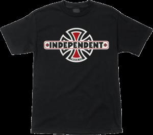 Independent VINTAGE B/C SS BLACK