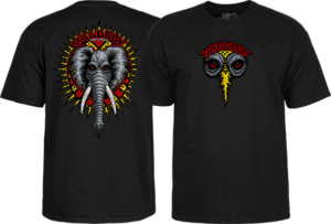 Powell Peralta VALLELY ELEPHANT SS M-BLACK