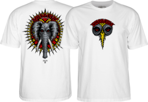 Powell Peralta VALLELY ELEPHANT SS S-WHITE
