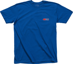 TRANSWORLD 411VM EMBROIDERED SS BLUE