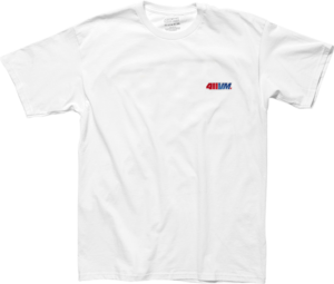 TRANSWORLD 411VM EMBROIDERED SS WHITE