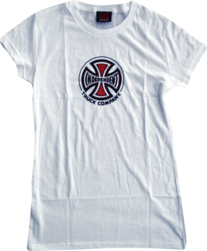 Independent TRUCK CO YTH SS S-WHITE