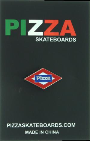 PIZZA SOL ENAMEL PIN