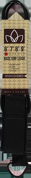STAY COVERED BASIC 6' LEASH BLACK