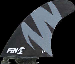FIN-S S-7 HONEYCOMB BLACK/GREY 3 fins sale