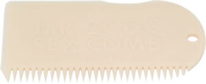 SEX WAX WAX COMB BONE WHITE