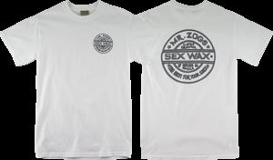 SEXWAX PINSTRIPE SS M-WHITE
