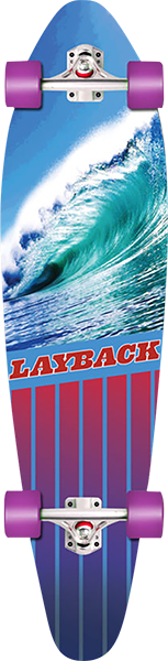 LAYBACK GOING LEFT KICKTAIL COMPLETE-9.75x38