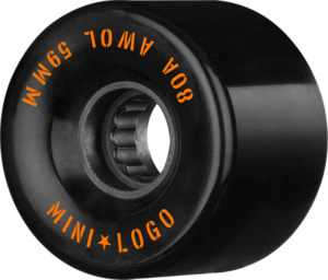 Mini Logo ATF A.W.O.L. 59mm 80a BLACK x4