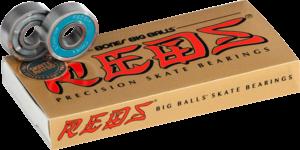 BONES BIG BALLS REDS (SINGLE SET) BEARINGS