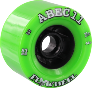 ABEC11 FLYWHEELS REFLY 83mm 74a LIME/BLK x4