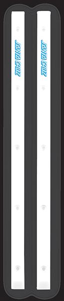 SC SLIMLINE BOARD RAILS WHITE