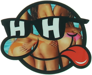 HAPPY HOUR SONNY BUNS SM DECAL single