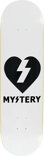 MYSTERY HEART DECK WHITE/BLK