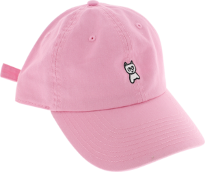 MEOW UNSTRUCTURED MINI CAT HAT ADJ-PINK