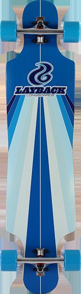 LAYBACK SUN STRIPE DT COMPLETE-9.75x40 BLUE