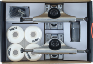INS COMPONENT PACK 4.75 RAW/RAW w/52mm WHITE x2