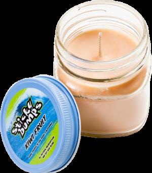 STICKY BUMPS CANDLE 7oz GLASS KIWI FRUIT
