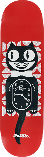 POLITIC PEPPER CAT CLOCK DECK