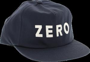 ZERO ARMY HAT ADJ-NAVY/WHT