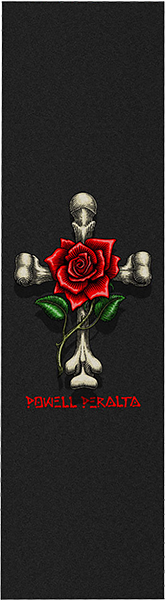 PWL/P GRIP SHEET 9x33 ROSE CROSS BLK
