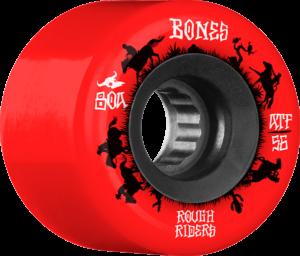 BONES ATF ROUGH RIDER WRANGLER 80a RED x4