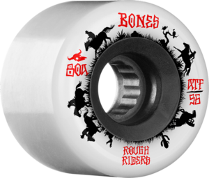BONES ATF ROUGH RIDER WRANGLER 80a WHT x4