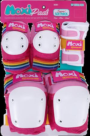 187 6-PACK PAD SET L/XL-MOXI PINK