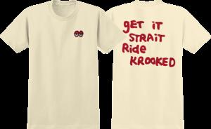 KRK EYES SS CREAM/RED