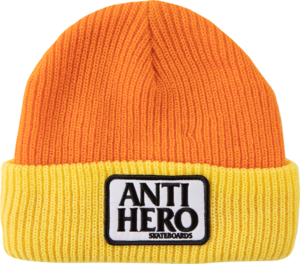AH RESERVE PATCH BEANIE ORG/YEL