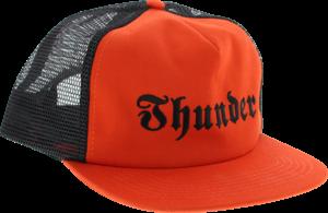 THUNDER EVIL HAT ADJ-RED/BLK